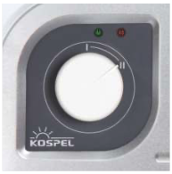 Механічне керування режимами роботи Kospel Luxus KDH